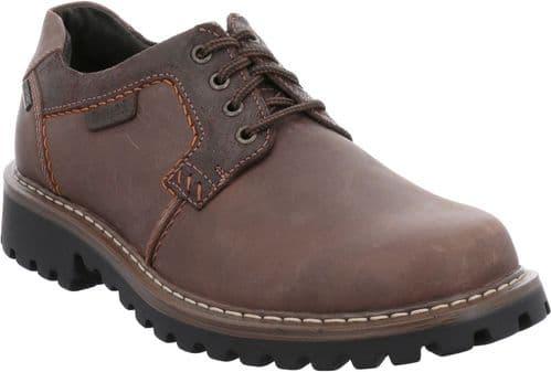 Josef Seibel Chance 08 Lace Mens Shoes Brown